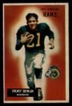1955 Bowman #157   Volney Quinlan Front Thumbnail