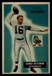 1955 Bowman #150  George Ratterman  Front Thumbnail