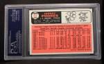 1966 Topps #468   Johnny Podres Back Thumbnail