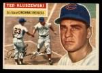 1956 Topps #25  Ted Kluszewski  Front Thumbnail