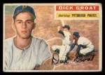 1956 Topps #24  Dick Groat  Front Thumbnail