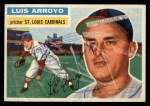 1956 Topps #64  Luis Arroyo  Front Thumbnail
