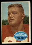 1960 #104  Mal Hammack  Front Thumbnail