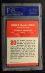 1963 Fleer #80  Don Stone  Back Thumbnail