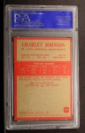 1965 Philadelphia #163  Charley Johnson   Back Thumbnail