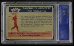1959 Fleer #68  Ted Signs for   -  Ted Williams Back Thumbnail