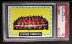 1964 Topps #65  Denver Broncos  Front Thumbnail
