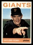 1964 Topps #468   Gaylord Perry Front Thumbnail