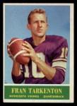 1964 Philadelphia #109  Fran Tarkenton   Front Thumbnail