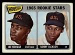 1965 Topps #16   Houston Rookie Stars  -  Joe Morgan / Sonny Jackson Front Thumbnail