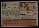 1962 Topps #320  Hank Aaron  Back Thumbnail