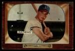 1955 Bowman #103   Eddie Mathews Front Thumbnail