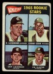 1965 Topps #526   Athletics Rookie Stars  -  Catfish Hunter / Johnny Odom / Skip Lockwood / Rene Lachemann Front Thumbnail
