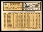 1963 Topps #550  Duke Snider  Back Thumbnail