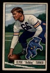 1951 Bowman #13   Clyde Turner Front Thumbnail