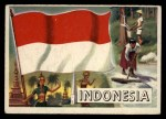 1956 Topps Flags of the World #20   Indonesia Front Thumbnail