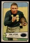 1954 Bowman #128   John Lattner Front Thumbnail