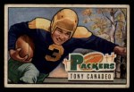 1951 Bowman #90  Tony Canadeo  Front Thumbnail