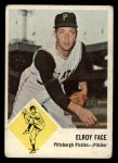 1963 Fleer #57   Roy Face Front Thumbnail