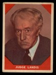 1960 Fleer #64  Judge Landis  Front Thumbnail