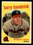 1959 Topps #322 ^TR^ Harry Hanebrink  Front Thumbnail