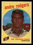 1959 Topps #216   Andre Rodgers Front Thumbnail