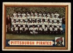 1957 Topps #161  Pirates Team  Front Thumbnail