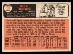 1966 Topps #378   Dick Tracewski Back Thumbnail