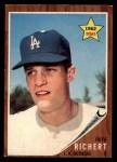 1962 Topps #131 A  Pete Richert Front Thumbnail