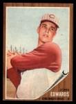 1962 Topps #302   John Edwards Front Thumbnail