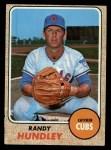 1968 Topps #136  Randy Hundley  Front Thumbnail