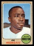 1968 Topps #144  Joe Morgan  Front Thumbnail