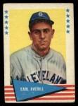 1961 Fleer #5   Earl Averill Front Thumbnail