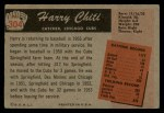 1955 Bowman #304   Harry Chiti Back Thumbnail