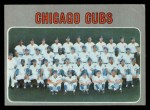 1970 Topps #593   Cubs Team Front Thumbnail