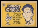 1970 Topps #455   -  Brooks Robinson All-Star Back Thumbnail