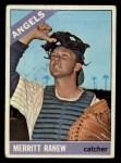 1966 Topps #62 *xSLD* Merritt Ranew  Front Thumbnail