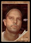 1962 Topps #481  Vic Wertz  Front Thumbnail