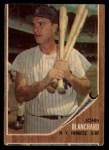 1962 Topps #93   John Blanchard Front Thumbnail