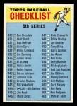 1966 Topps #444 COR Checklist 6  Front Thumbnail