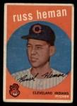 1959 Topps #283   Russ Heman Front Thumbnail