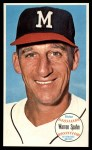1964 Topps Giants #31  Warren Spahn   Front Thumbnail