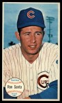 1964 Topps Giants #58   Ron Santo  Front Thumbnail