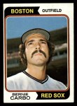 1974 Topps #621   Bernie Carbo Front Thumbnail