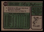 1974 Topps #622   Phil Gagliano Back Thumbnail