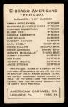 1922 E120 American Caramel #17  Elmer Cox  Back Thumbnail