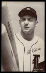 1962 Exhibit Stat Back #17   Al Kaline Front Thumbnail