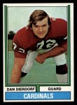 1974 Topps #32   Dan Dierdorf Front Thumbnail