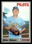 1970 Topps #393   John Gelnar Front Thumbnail