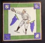 1914 B18 Blankets #4   Shoeless Joe Jackson  Back Thumbnail